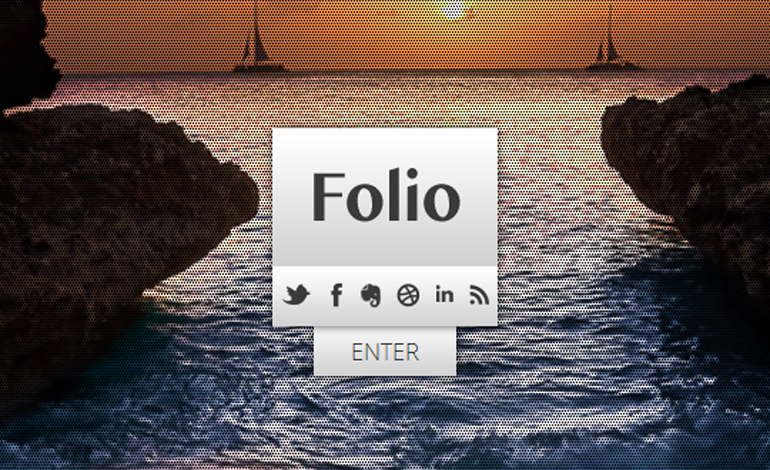 Folio Responsive Wordpress Theme
