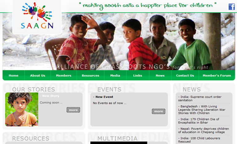 SAAGN | SOUTH ASIAN ALLIANCE OF GRASSROOTS NGO'S for child's right
