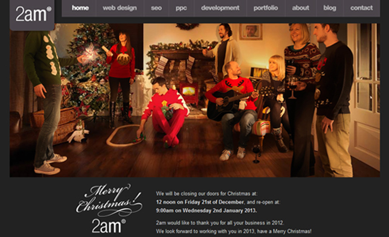 Merry Christmas from 2am