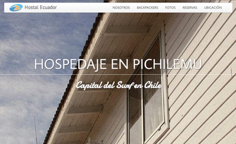 Hospedaje en Pichilemu
