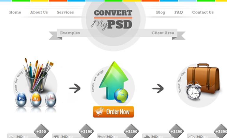 Convert My PSD