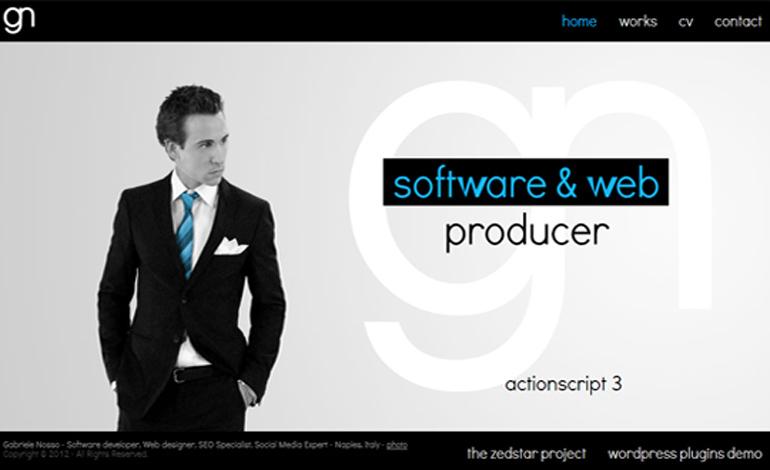 Gabriele Nosso - Software & Web designer & developer