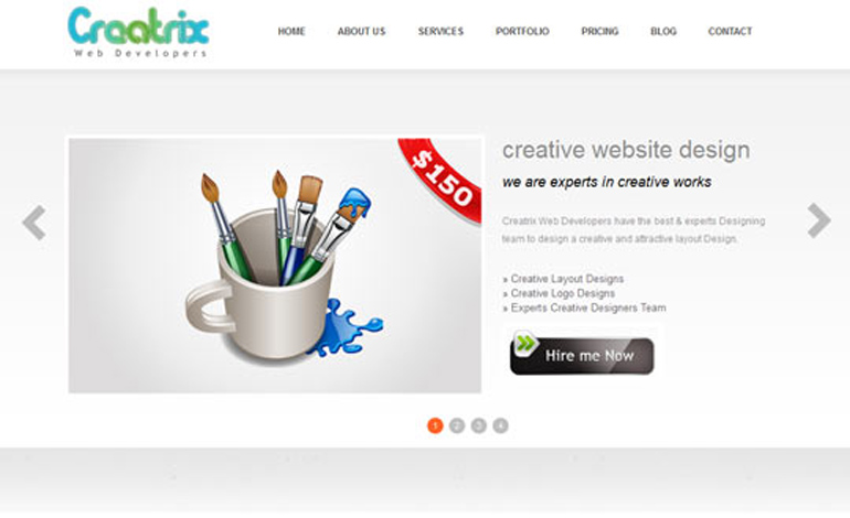 Creatrix Web Developers