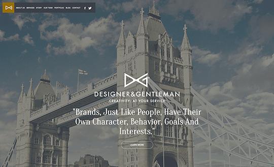Designer and Gentleman