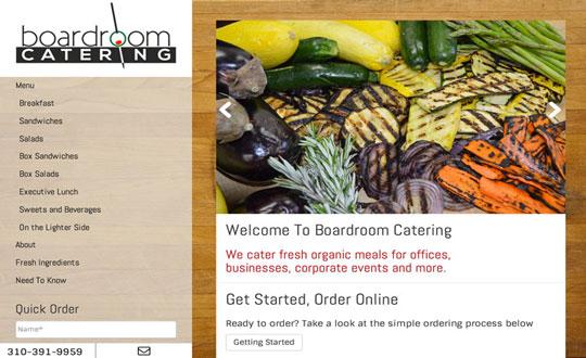 Boardroom Catering