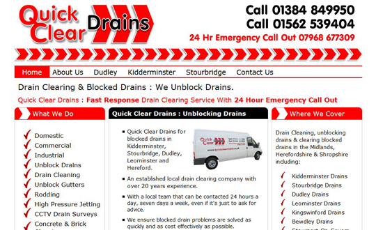 Quick Clear Drains