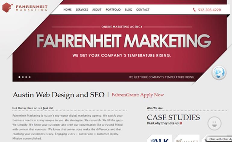 Fahrenheit Marketing - Design & Development